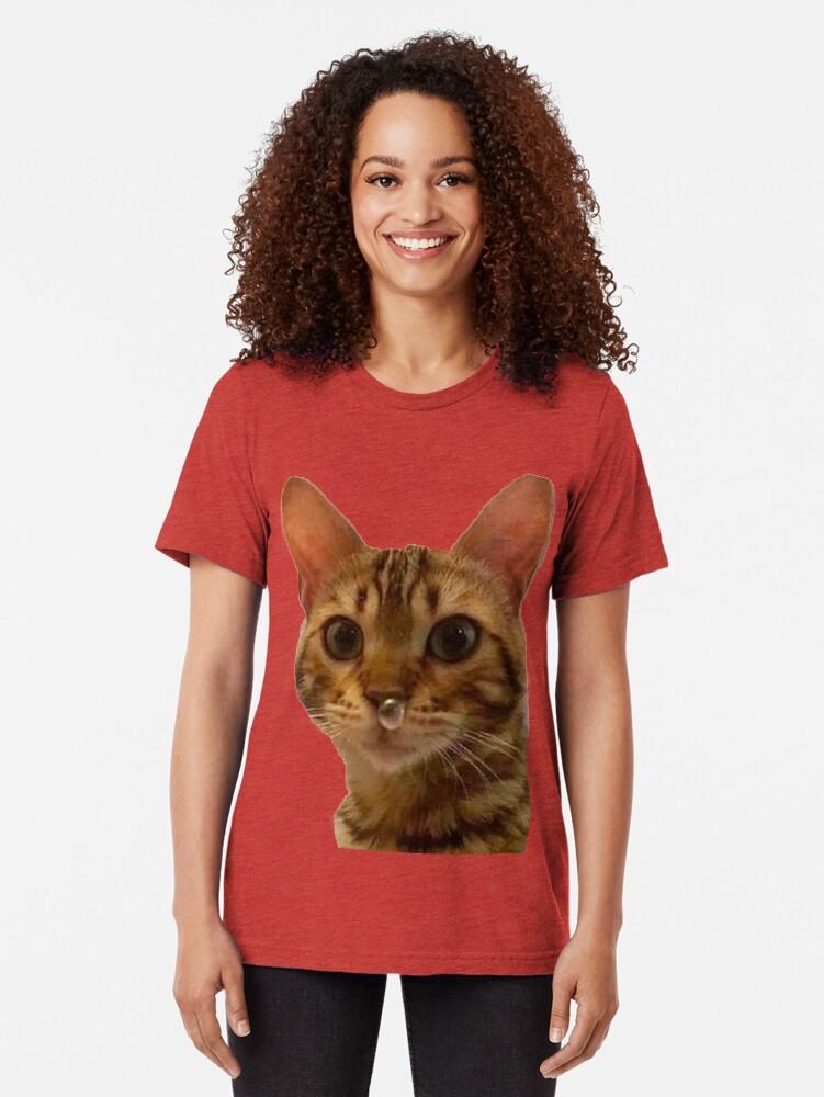 Vista alternativa de Camiseta de tejido mixto Haz tu día más feliz