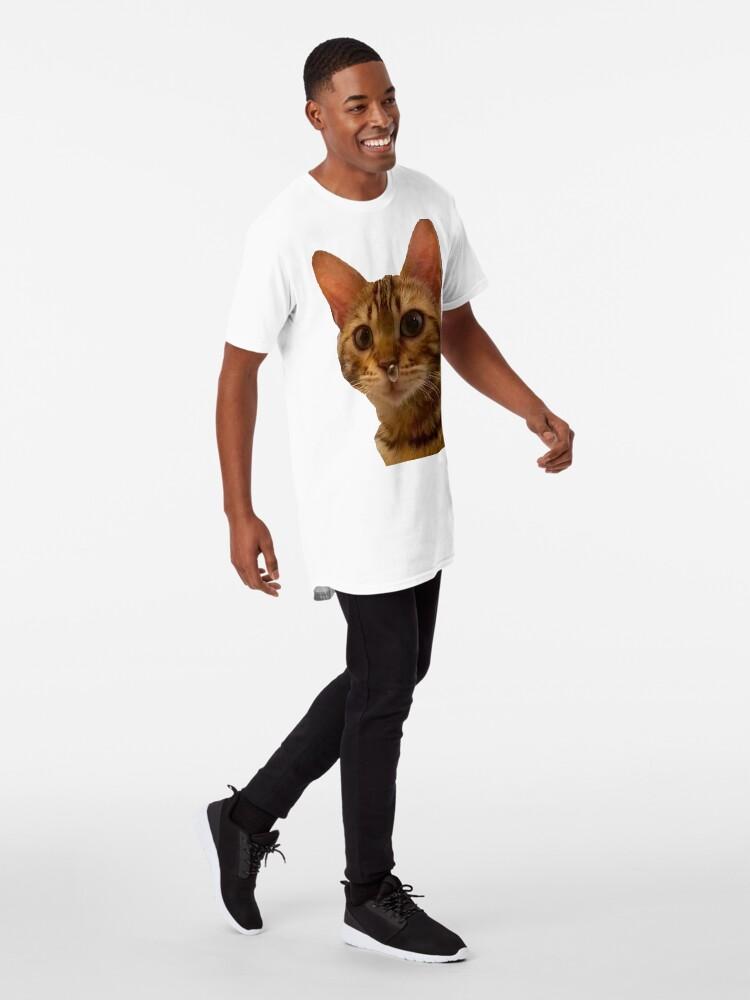Vista alternativa de Camiseta larga Haz tu día más feliz