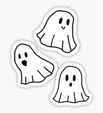 Spooky Spooky Ghosts Sticker