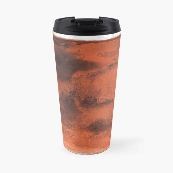 Map of Planet Mars -8K Travel Mug