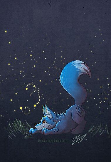 Firefly Fox - Blue by Zhivago