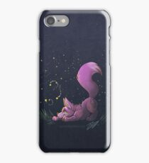 Firefly Fox - Pink iPhone Case/Skin