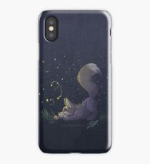 Firefly Fox - Grey iPhone Case/Skin