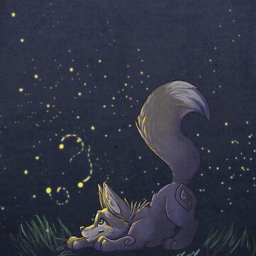 Firefly Fox - Grey by Zhivago