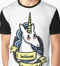I Believe in Unicorns Graphic T-Shirt