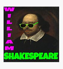 William Shakespeare, London Calling Photographic Print