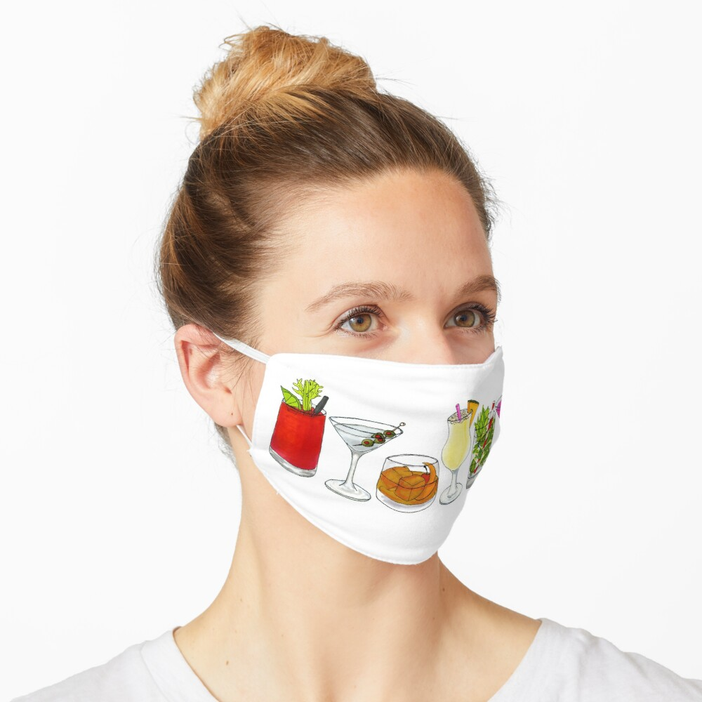 Classic cocktail collection Mask