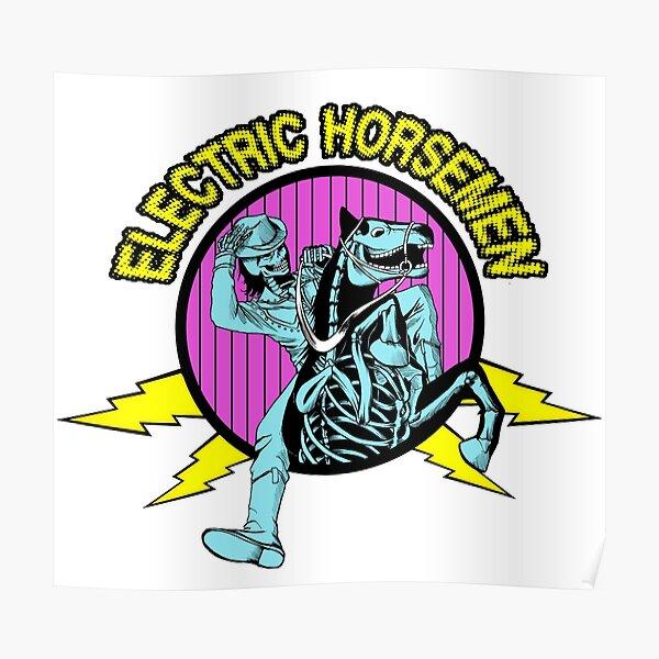 Electric Horsemen Alternate Logo 2015 Poster