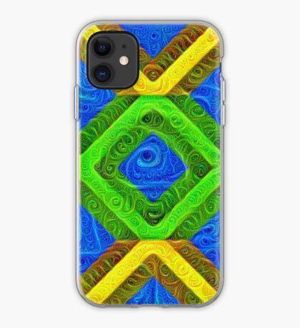 #DeepDream Color Squares Visual Areas 5x5K v1448364075 iPhone Case