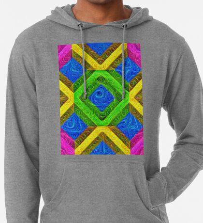 #DeepDream Color Squares Visual Areas 5x5K v1448364075 Lightweight Hoodie