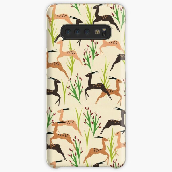 Ivory Leaping Deer Samsung Galaxy Snap Case