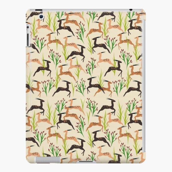 Ivory Leaping Deer iPad Snap Case