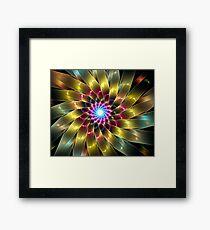 Ribbon Flower Framed Print