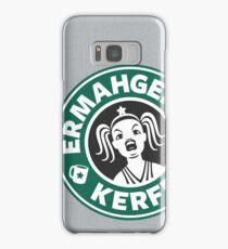ERMAHGERD, KERFER! Samsung Galaxy Case/Skin