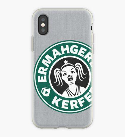ERMAHGERD, KERFER! iPhone Case
