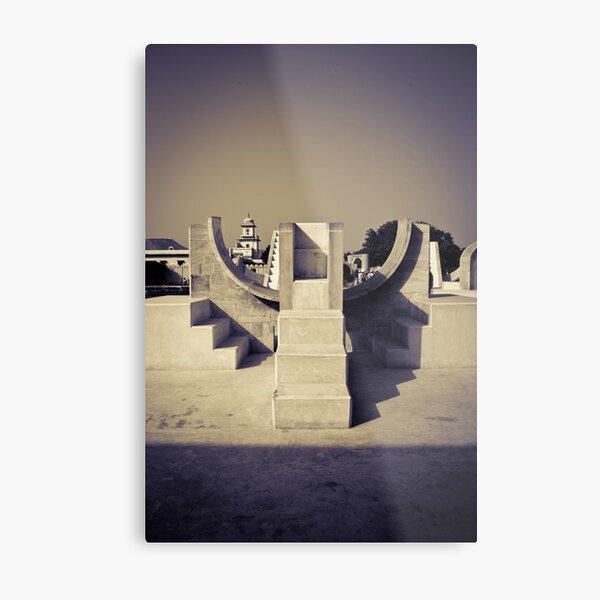 The symmetry of things Metal Print