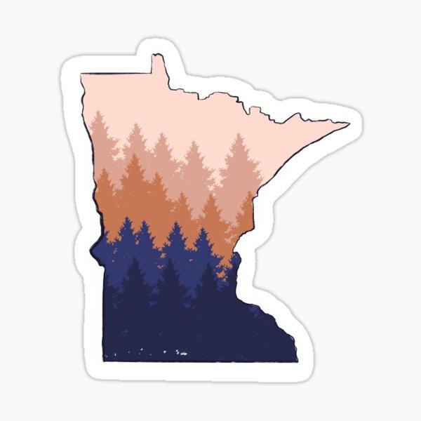 Minnesota Trees Sticker