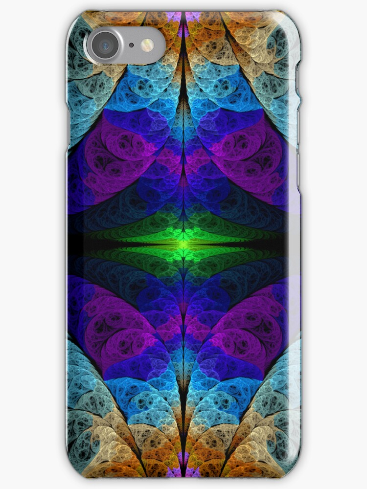 Georgia Wild Welcome to the Chamber of Infinite Happiness iPhone Case by Georgia Wild