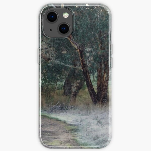 Frosty Morning - Adelaide Hills - Fleurieu Peninsula by South Australian artist Avril Thomas iPhone Soft Case