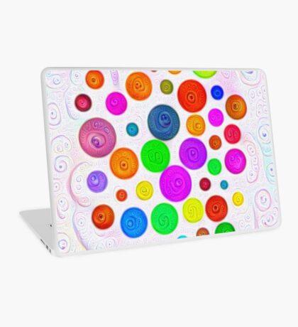 #DeepDream Color Circles Visual Areas 5x5K v1448374069 Laptop Skin