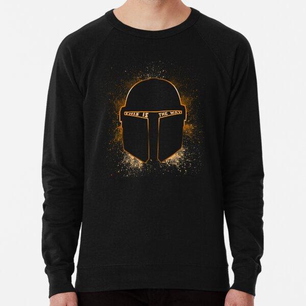 Mando helmet Retro  Lightweight Sweatshirt