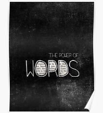 the power of words Poster