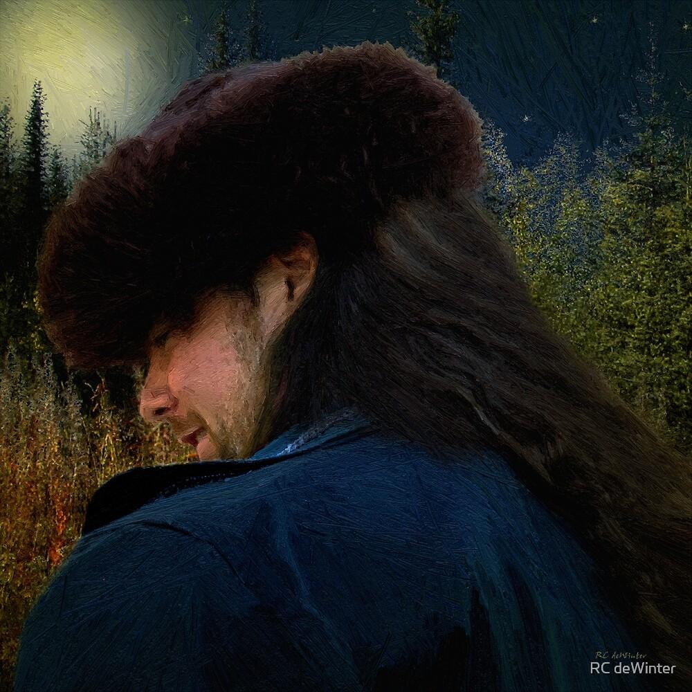 Moonlit Walk by RC deWinter