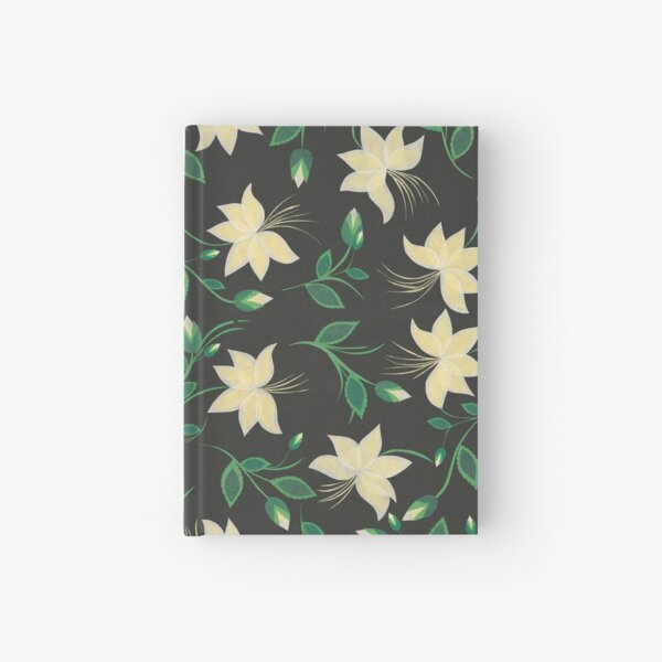 Ivory Nouveau Blooms Hardcover Journal