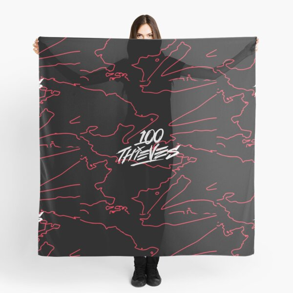 100 Thieves - Geography  Scarf