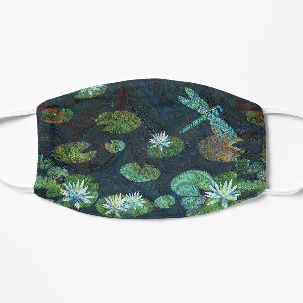 Dragonfly Garden Flat Mask