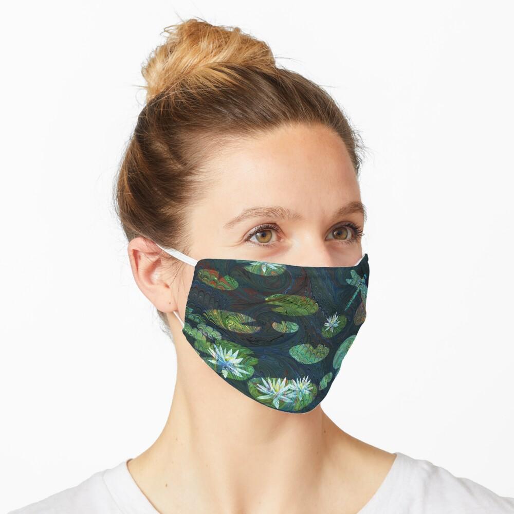 Dragonfly Garden Mask