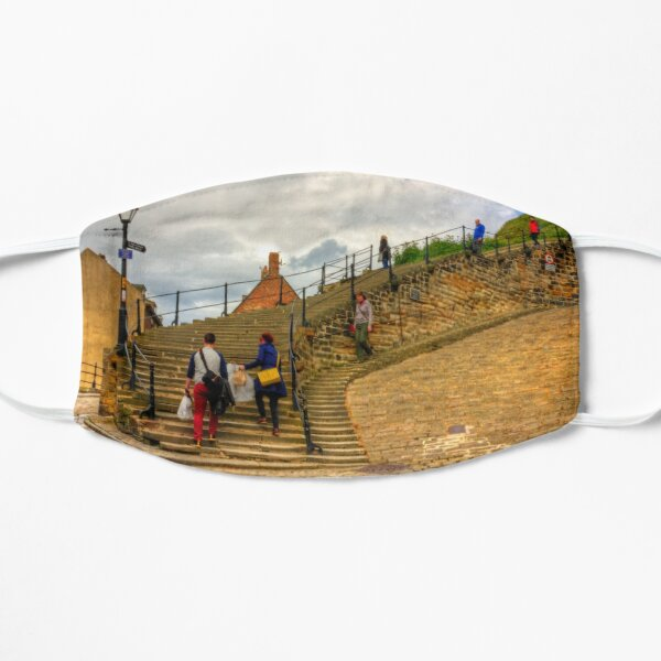 Bottom of the Whitby Steps Mask