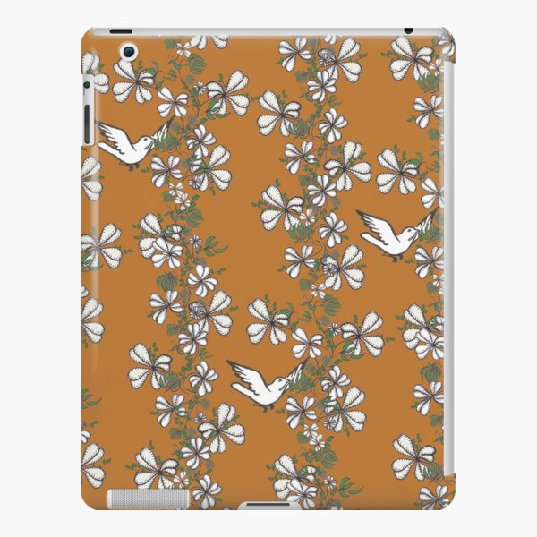 Bird Vine (Orange) iPad Snap Case