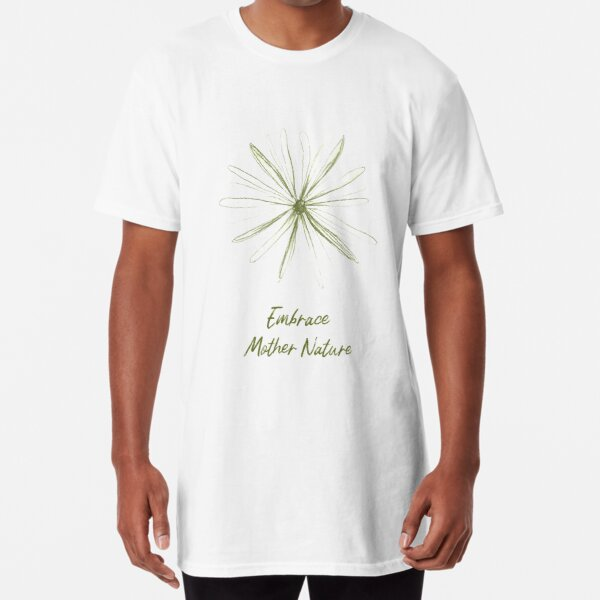 Embrace Mother Nature Camiseta larga