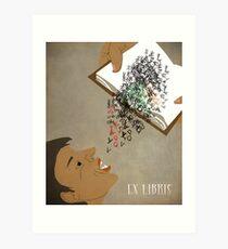 EX LIBRIS Art Print