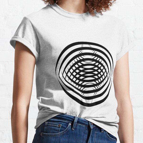 Concentric Shrinking Circles концентрические уменьшающиеся круги Classic T-Shirt
