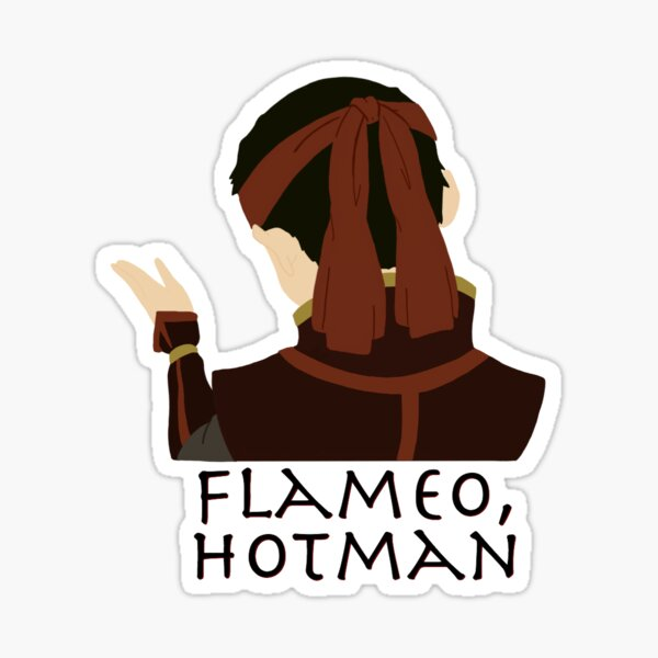 Flameo, Hotman Sticker