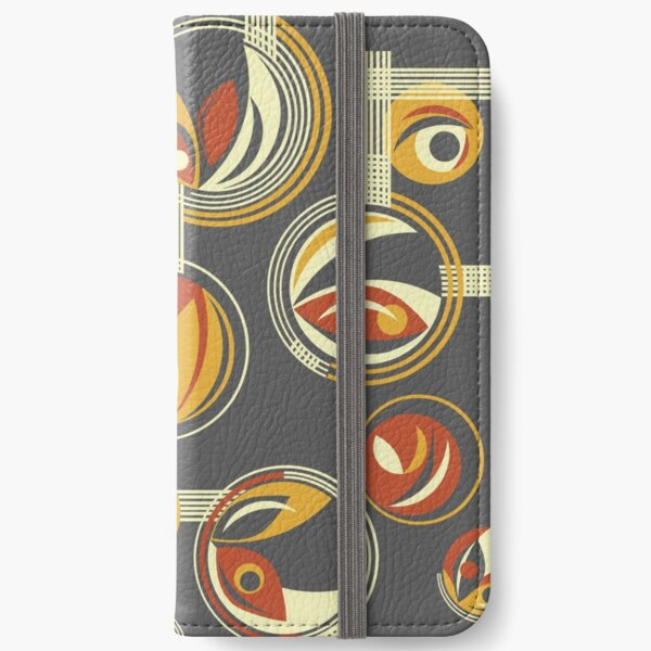 Fab Deco (Red) iPhone Wallet