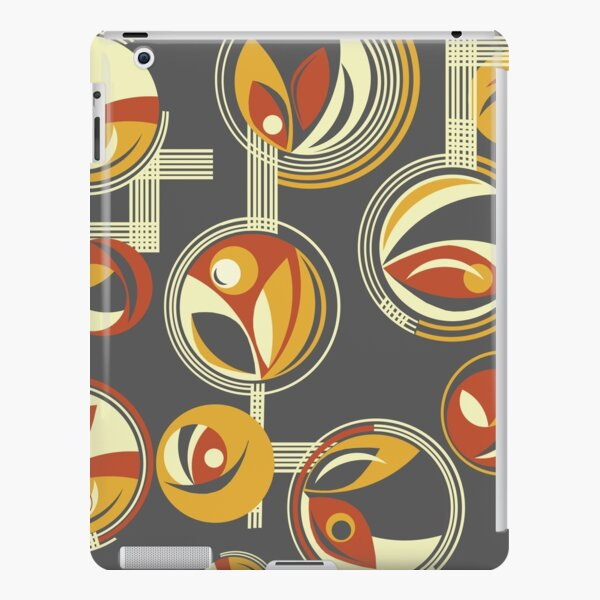 Fab Deco (Red) iPad Snap Case