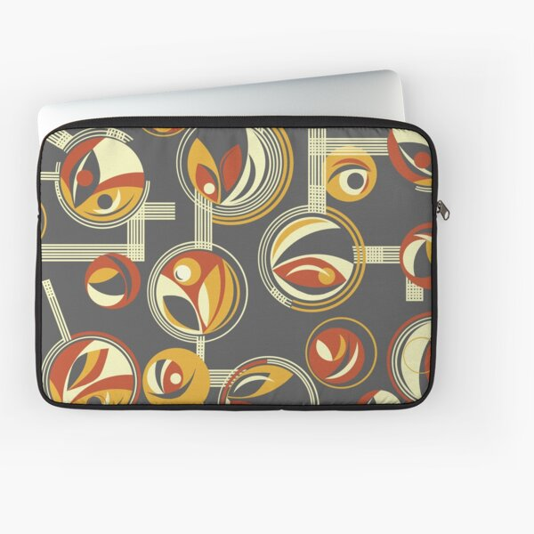 Fab Deco (Red) Laptop Sleeve