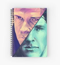 Watson and Holmes Spiral Notebook
