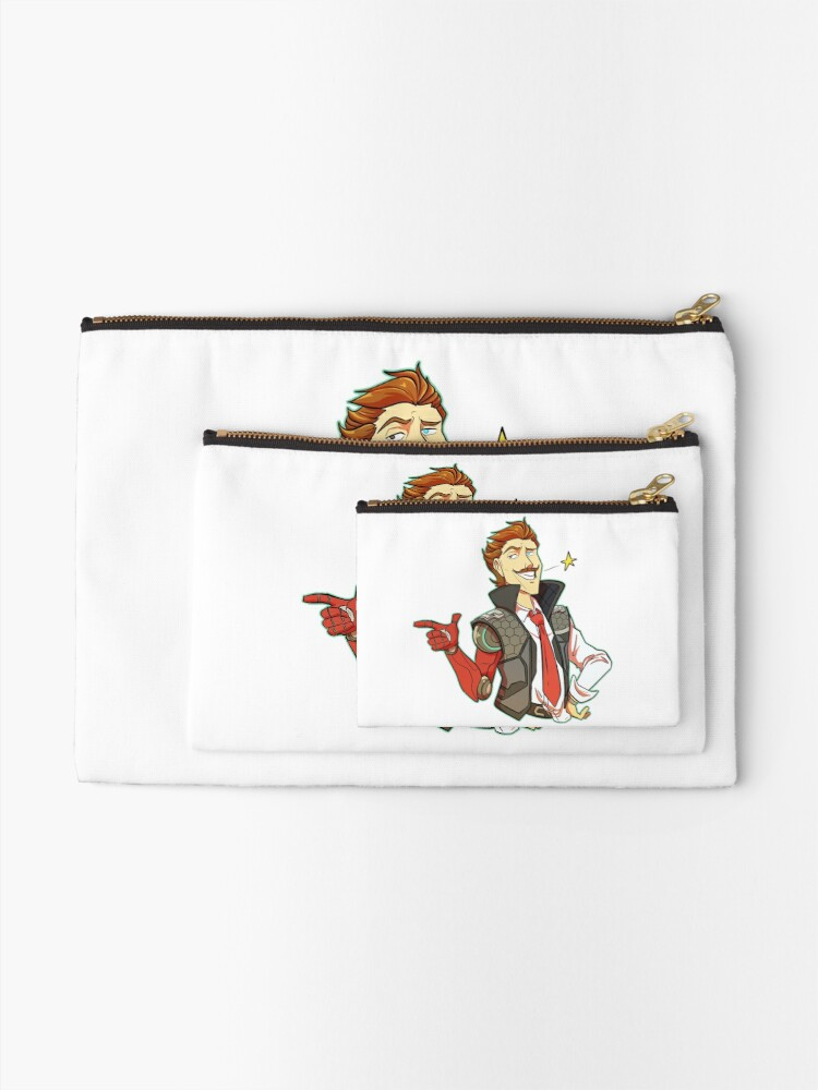 Alternate view of Rhys the CEO Zipper Pouch