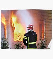 15.11.201212: Fireman at Work III Poster