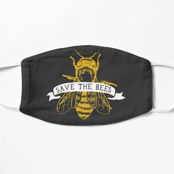 Save The Bees! (Dark) Flat Mask
