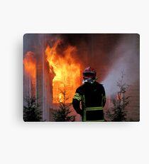 15.11.201212: Fireman at Work IV Canvas Print