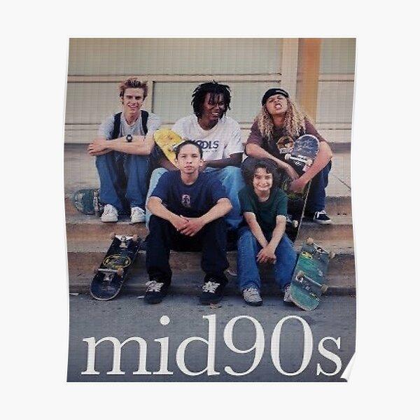 Milieu des années 90 Poster