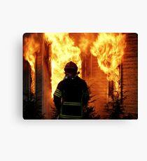 15.11.201212: Fireman at Work V Canvas Print