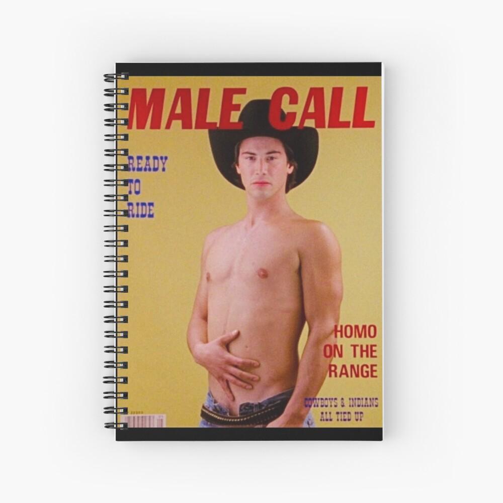My Own Private Keanu Spiral Notebook