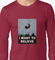I Want To Believe (Santa) Long Sleeve T-Shirt