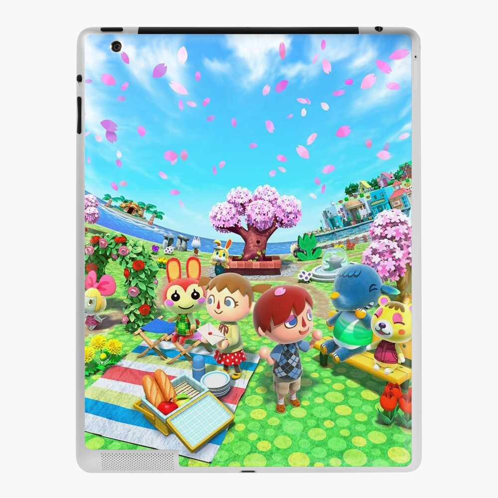 Animal Crossing Villagers Picnic Ipad Case Skin By Cutespice Redbubble